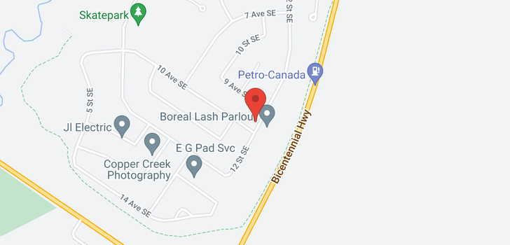 map of 1116 10 AVE SE
