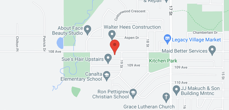 map of 1909 108 AVE