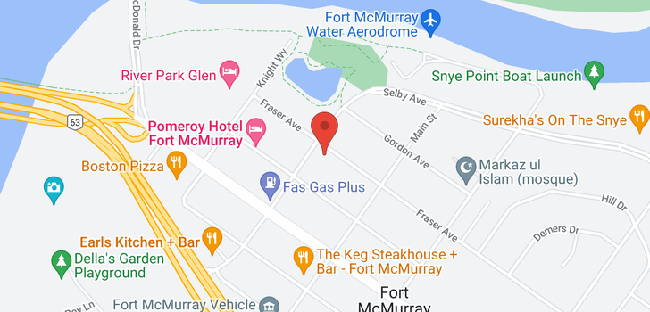 map of 201 10115 MORRISON Street