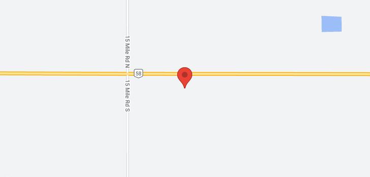map of 17245 Highway 58